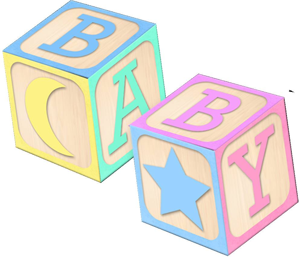 1000x850 Baby Blocks Alphabet Vector Library Library