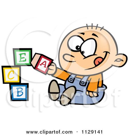 450x470 3d Baby Blocks Clipart