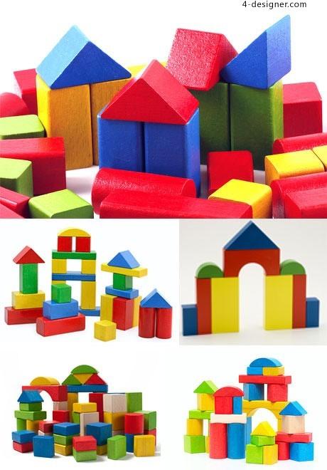 460x660 4 Designer Cute Child Blocks Hd Picture Vector Material
