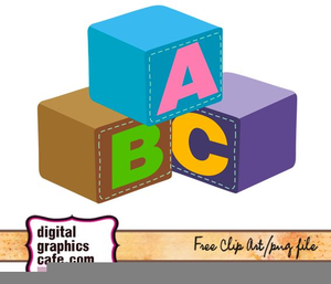 300x257 Baby Blocks Free Clipart Free Images