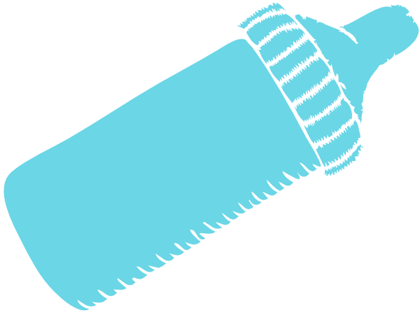 600x450 Baby Bottle Vector Icon