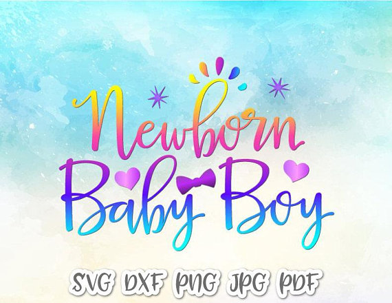 570x440 Newborn Baby Boy Svg Files For Cricut New Baby Coming Take Home