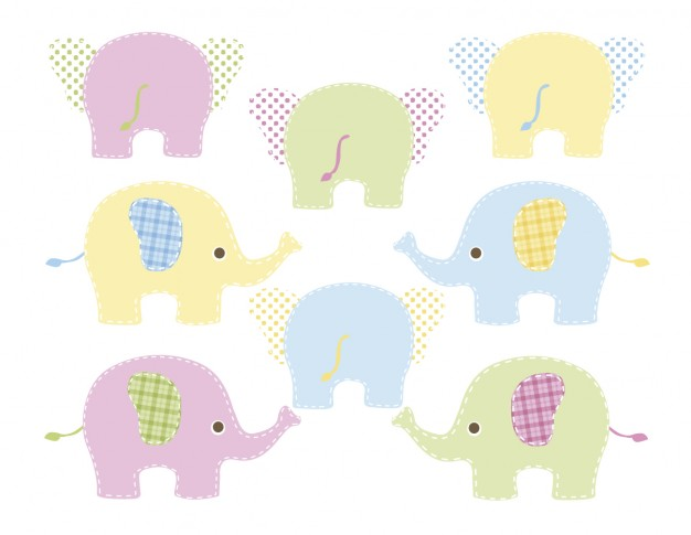 Baby Elephant Vector at GetDrawings com | Free for personal use Baby