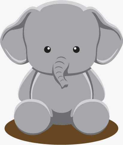 411x482 Cute Baby Elephant, Baby Vector, Elephant Vector, Baby Clipart Png