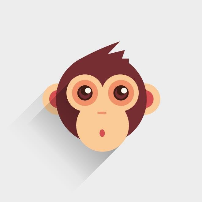 660x660 Free Baby Monkey Vector Image.eps Psd Files, Vectors Amp Graphics