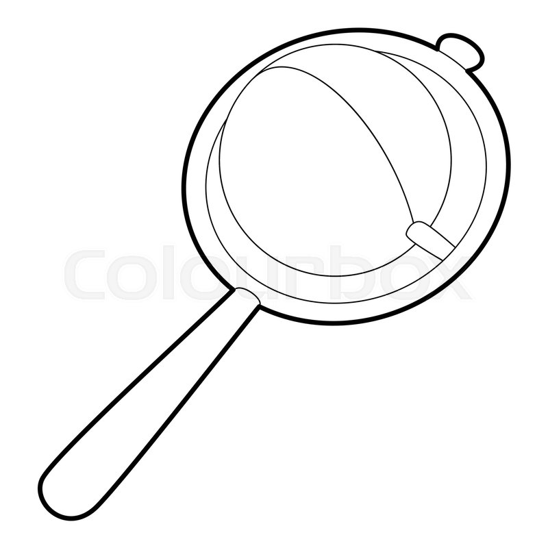 800x800 Baby Rattle Icon. Isometric 3d Illustration Of Baby Rattle Vector