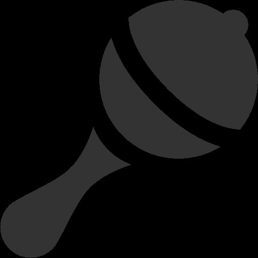 512x512 Rattle Icon