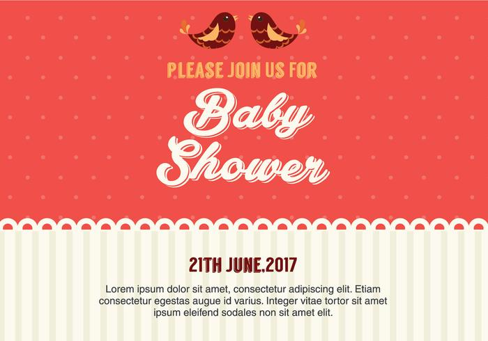 700x490 Baby Shower Free Vector Art