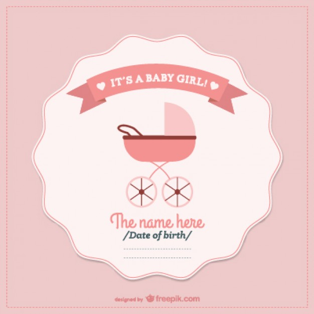 Baby Shower Vector Art