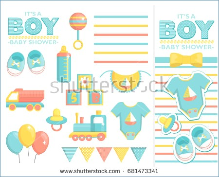 450x364 Baby Shower Vector Free