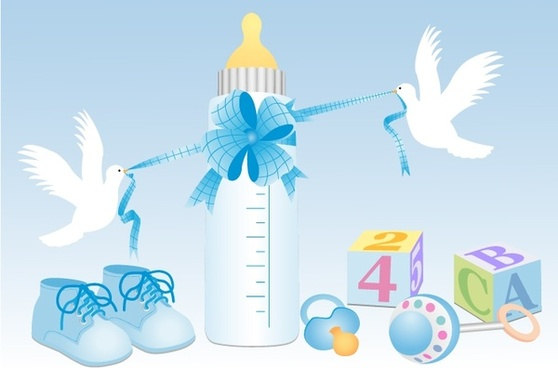 558x368 Baby Shower Free Vector Download (1,098 Free Vector) For