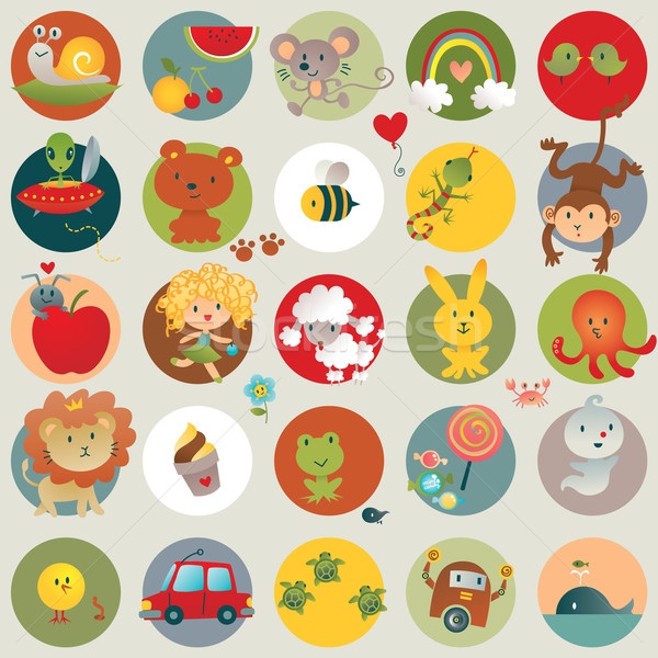 600x600 Baby Stuff And Baby Animals Vector Illustration Anna Elsewhere