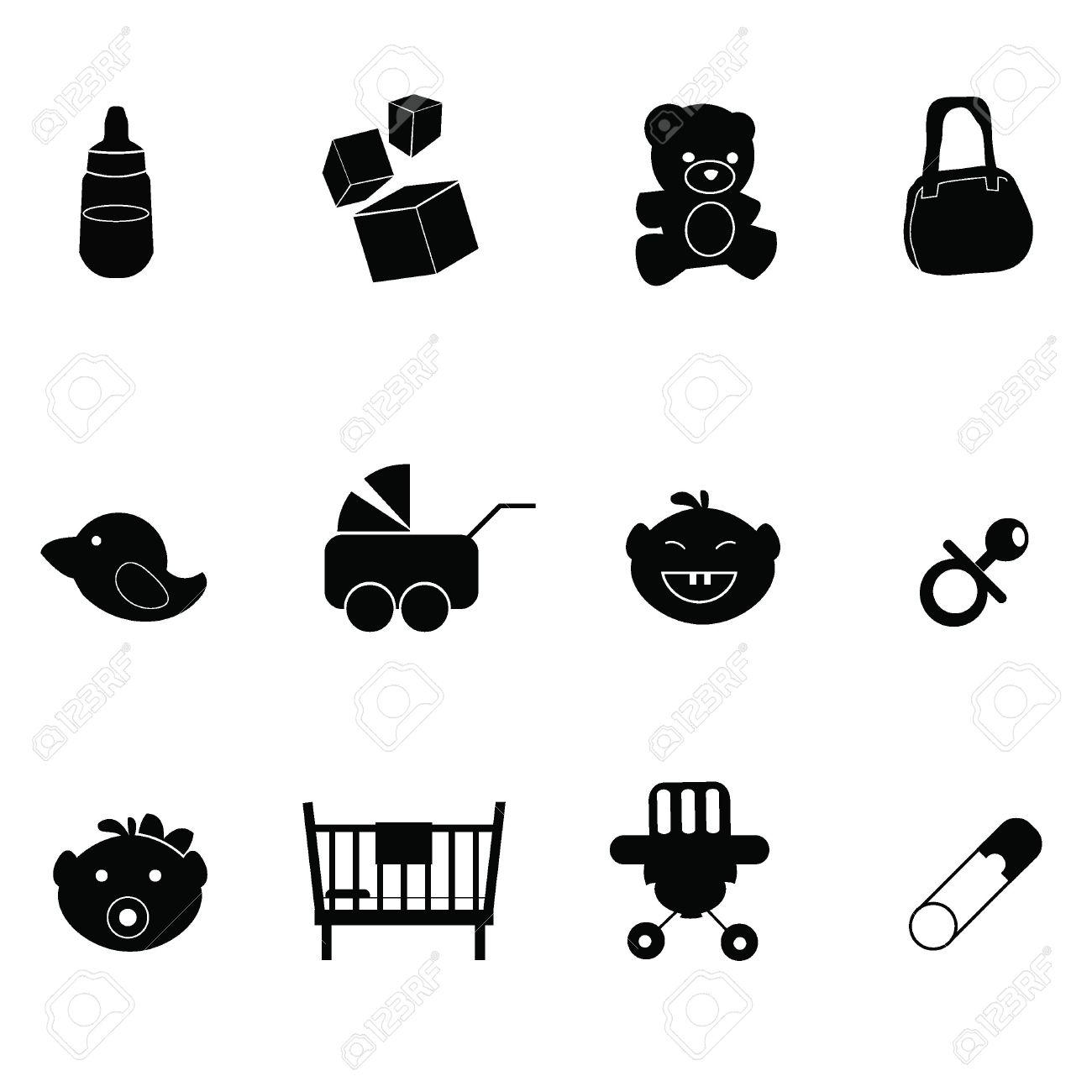 1300x1300 Baby Stuff Icons Free Icons