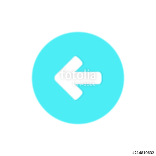 500x500 Direction Back Arrow Icon Button Stock Image And Royalty Free