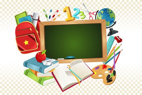 500x333 Free Back To School School Vectors Free Vector Download (83,898
