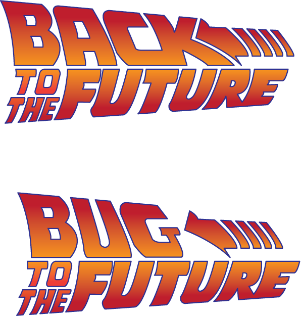 Back To The Future Vector