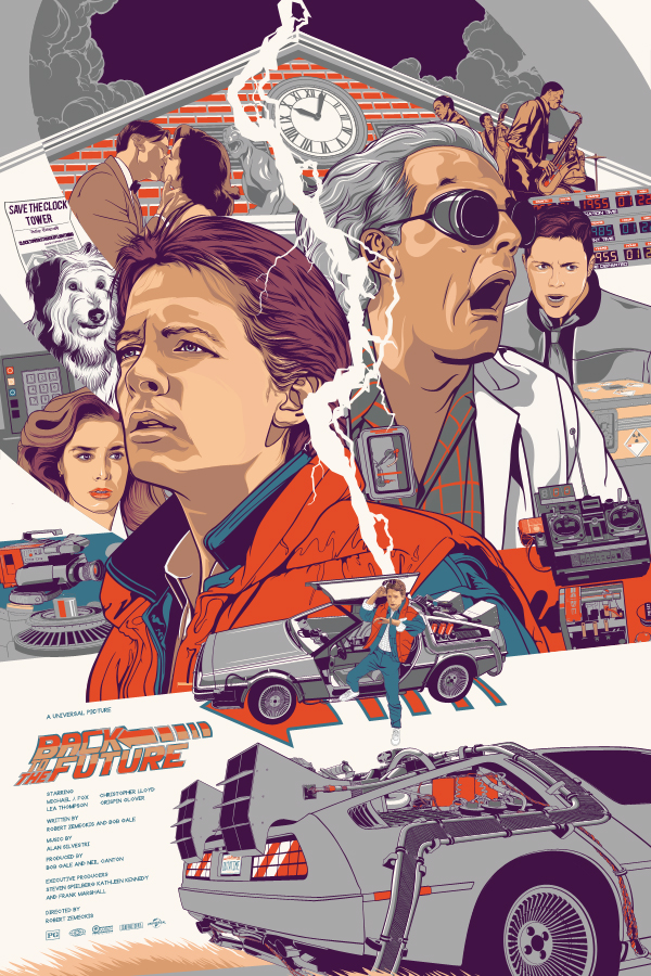 600x900 Back To The Future By Aseo