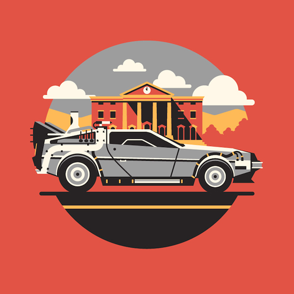 600x600 25 Heavy Back To The Future Artworks Amp Graphics
