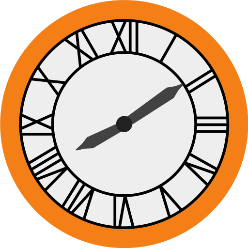 512x512 Collection Of Free Vector Clocks Back To Future. Download On Ubisafe