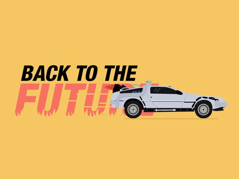 800x600 Delorean Back To The Future By Romain