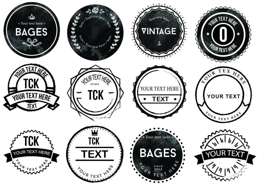 836x609 Free 20 Vector Badge Logo Icons