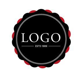 278x278 Free Badge Logo Vector On Pretty Klicks Vector