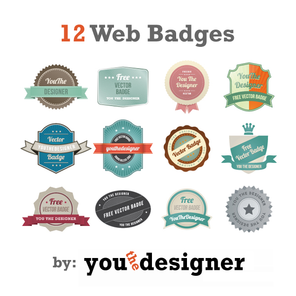 600x600 Free Vintage Badges That Are All The Rage!