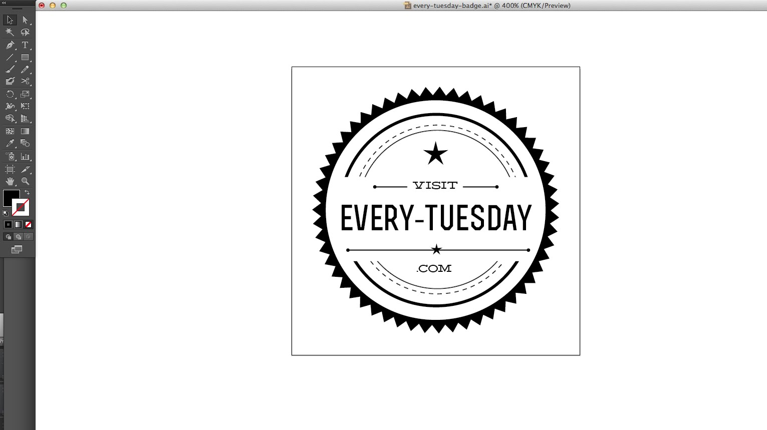 1531x859 How To Create A Hipster Vector Badge In Illustrator