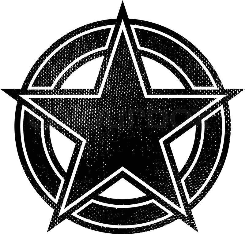 800x766 Star Circle Badge Logo Stock Vector Colourbox