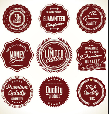 352x368 Vintage Style Badges Logos Free Vector Download (86,496 Free