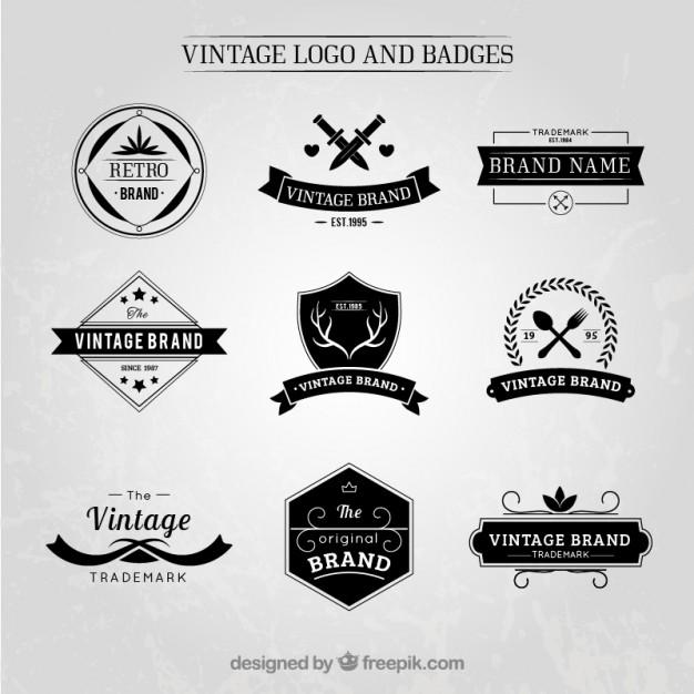 626x626 Vintage Badge Logo