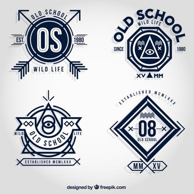 626x626 Free Vector Badges For Logo Design