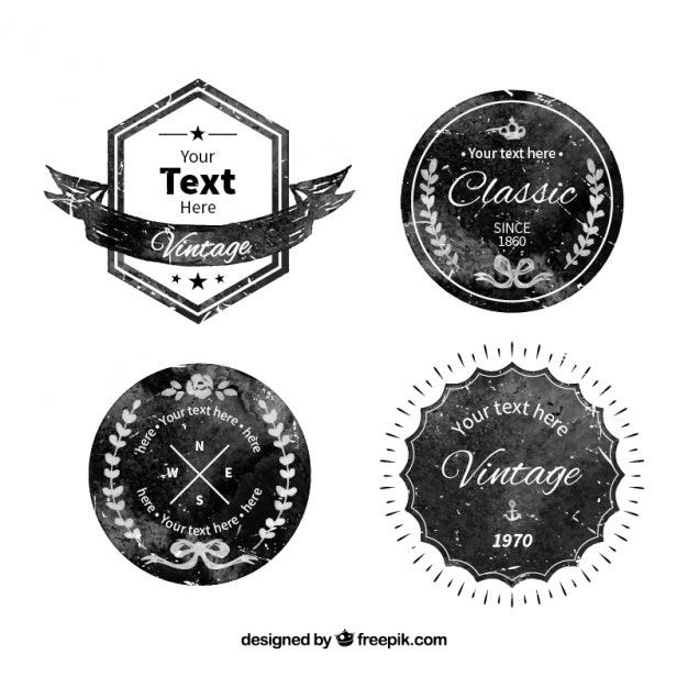 626x626 Free Vector Badges You Can Use As Logos