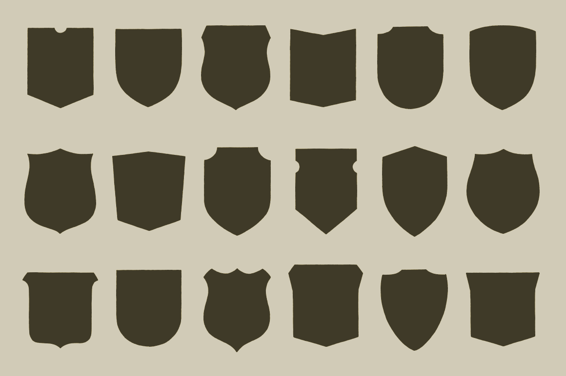 1160x772 6 Badge Shapes Vector Images