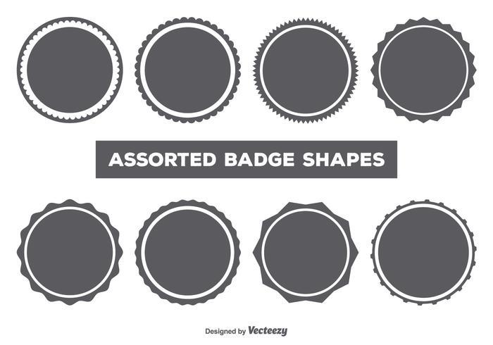 700x490 Badge Free Vector Art