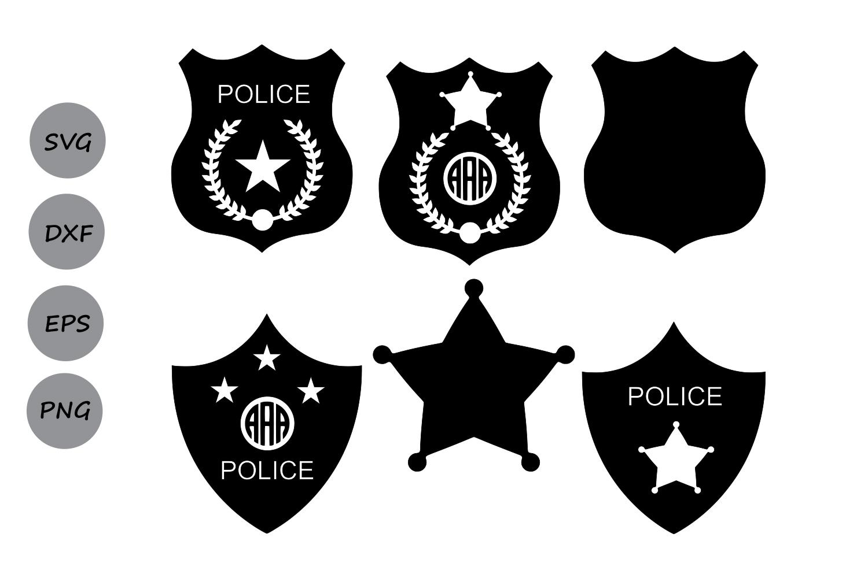1500x1000 Police Badge Svg, Police Svg, Police Badge Monogram Svg, Sheriff