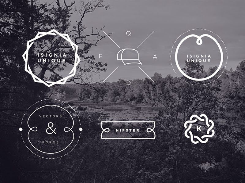 800x600 12 Hipster Insignias And Badges Vector Amp Psd Free, As A Bird