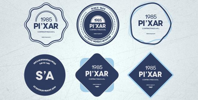 636x320 Free Hipster And Vintage Badges Pixelosaur Blog