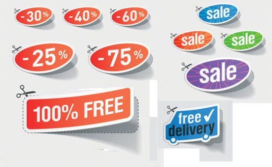 550x338 Free Badge Design Downloadable Files In Psd, Ai Formats