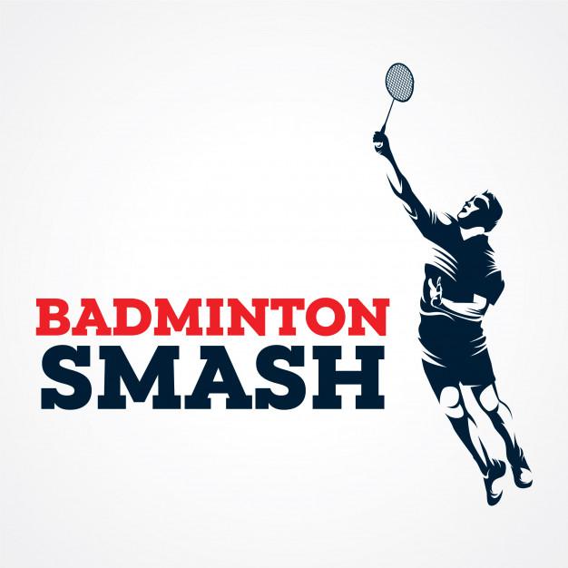 626x626 Badminton Vector Logo, Premium Silhouette Vector Vector Premium