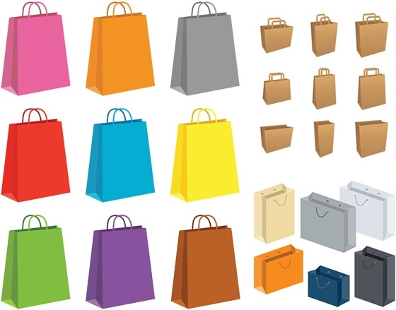 560x439 Paper Bag Vector Free Vector In Encapsulated Postscript Eps ( .eps