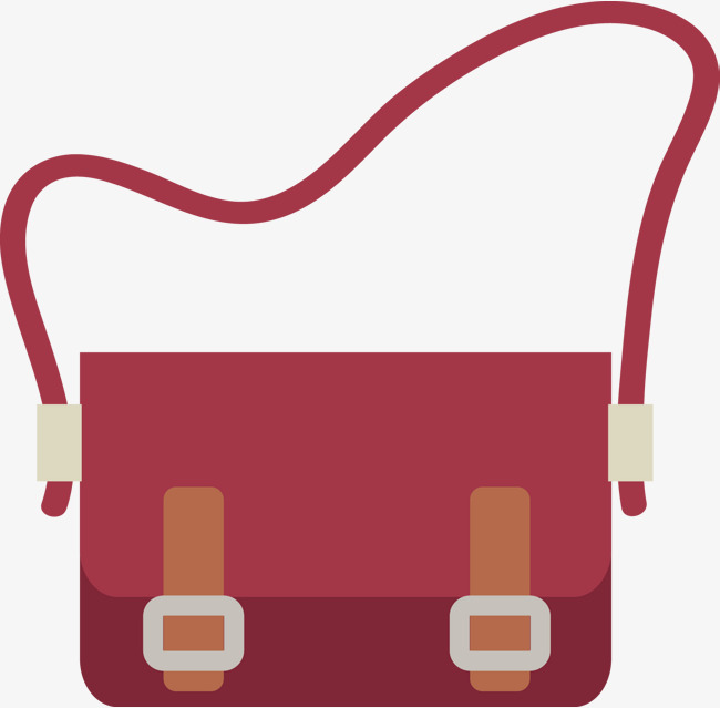 650x639 Red Bag Vector, Cartoon Bag, Luggage And Bags, Bags Amp Accessories