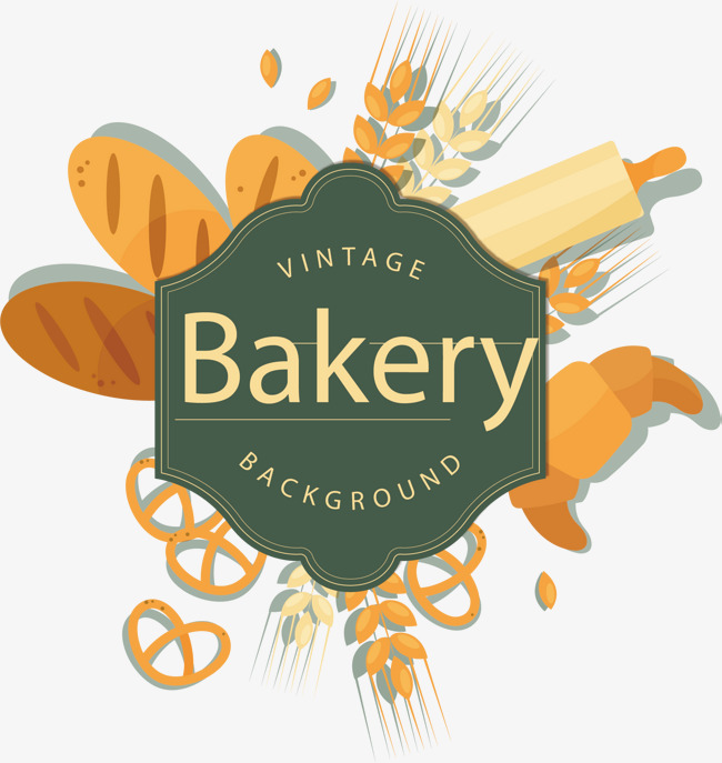 650x687 Wheat Baking Vector, Hand Painted, Bread, Wheat Png And Vector For