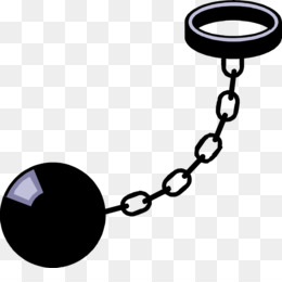 260x260 Prison Ball Chain Clipart