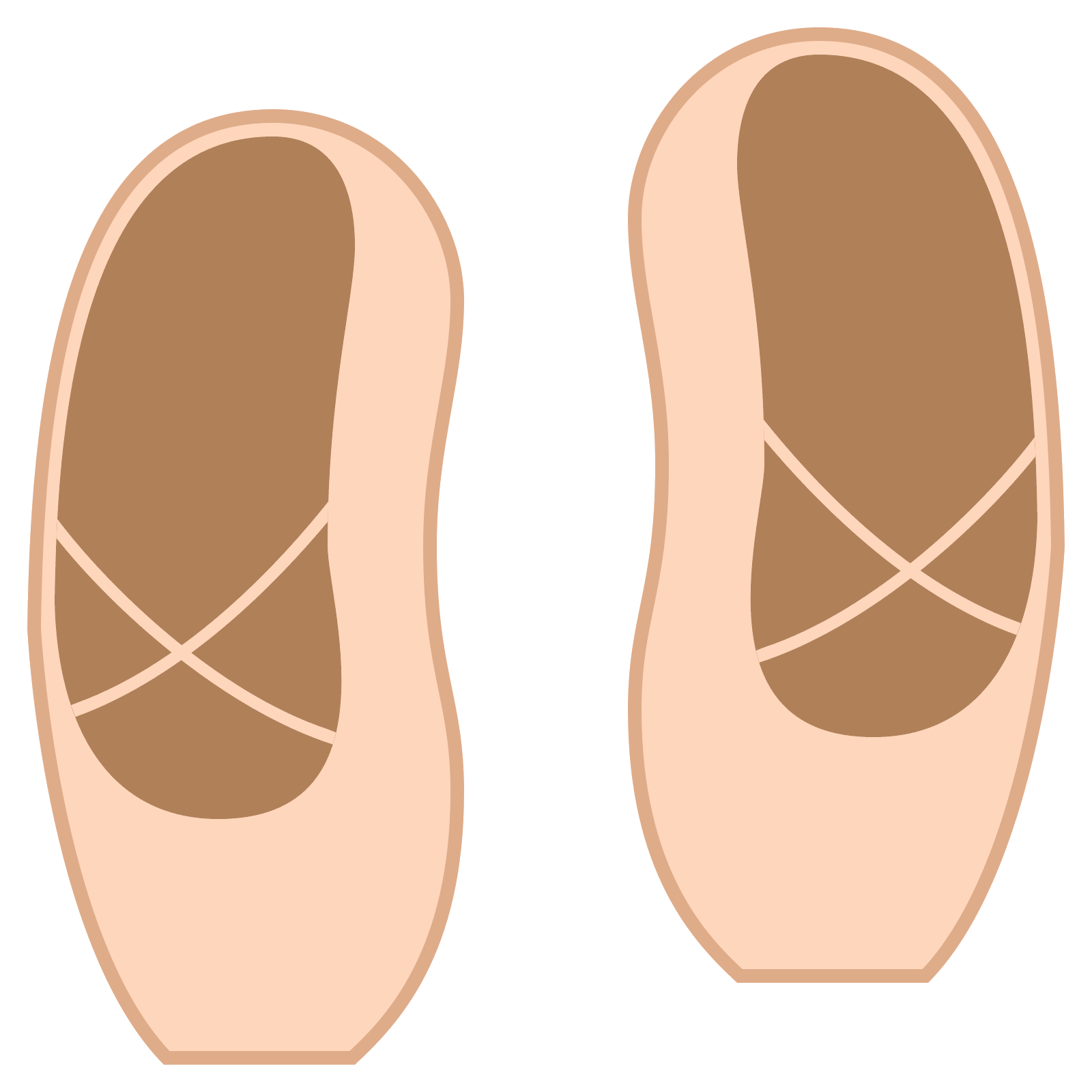 1600x1600 Ballet Shoes Icon