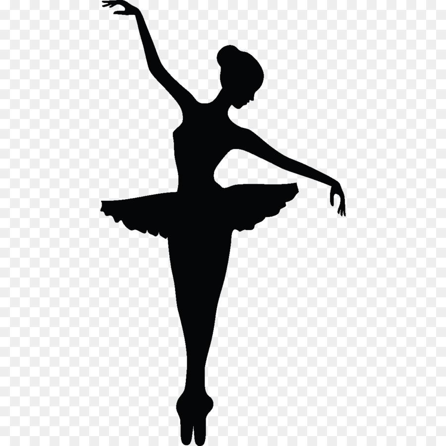 900x900 Wall Decal Ballet Dancer Sticker