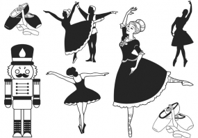 285x200 Ballet Shoes Free Vector Graphic Art Free Download (Found 881