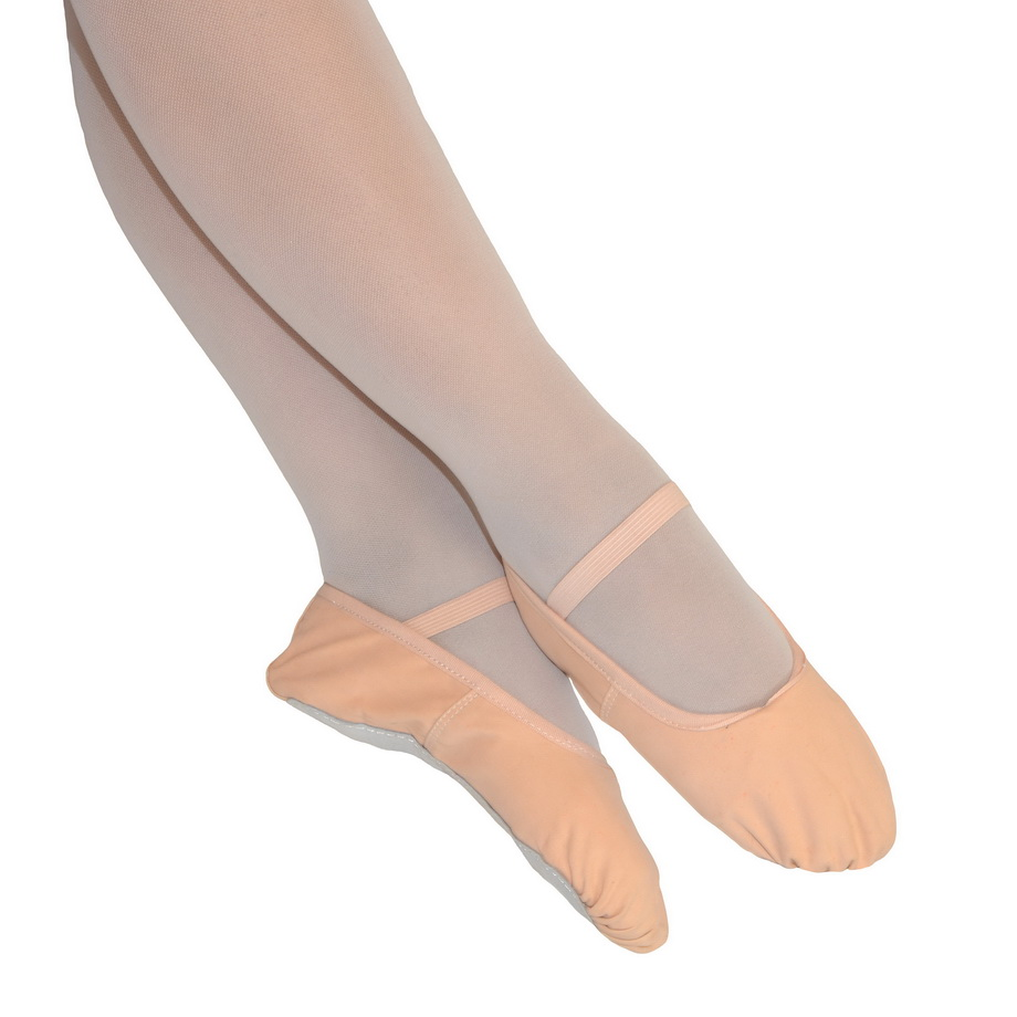 920x920 Pink Canvas Ballet Shoes