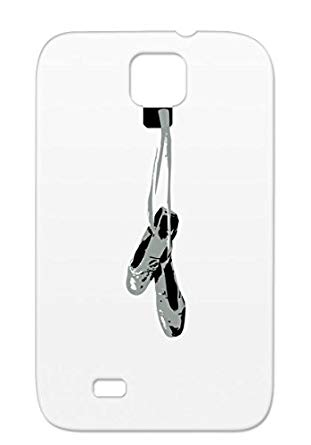 311x445 Tpu Gray For Sumsang Galaxy S4 Hanging Pointe Shoes Vector Pointe