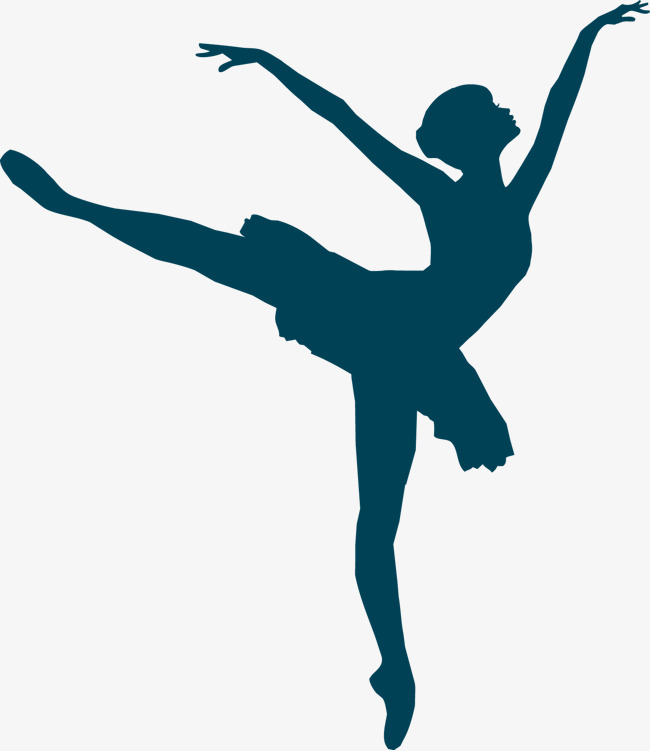 650x751 Ballet Silhouette Vector, Silhouette Vector, Ballet, Vector Png